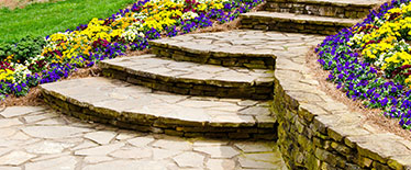 stone pathway steps
